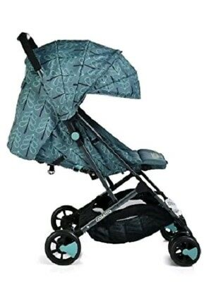 10!G1 Brand new Cosatto woosh stroller in Fjord with raincover birth to 25 kg