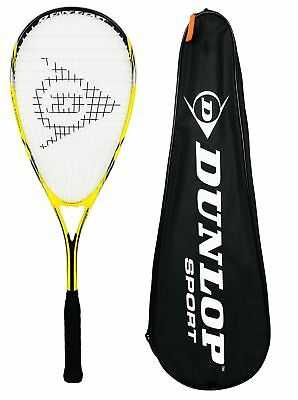 Dunlop Nanomax Lite Squash Racket + Carry Case RRP £70