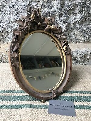 A 19th Century Black Forest mirror