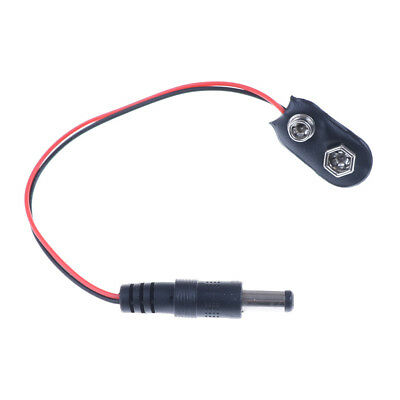 1X 9V DC Battery Power Cable Plug Clip barrel jack connector for Arduino DIY ZY