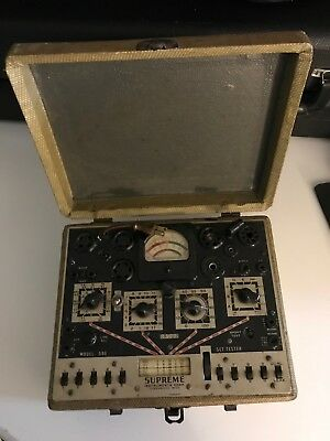 Supreme Instruments Tube Tester Model 599