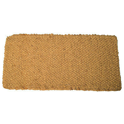 Coco Mats, 48 in Long, 30 in Wide, Natural Tan