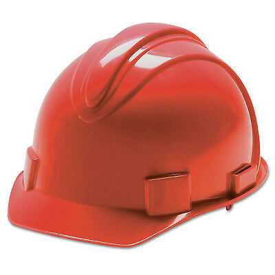 Charger Hard Hats, 4 Point Ratchet, Red