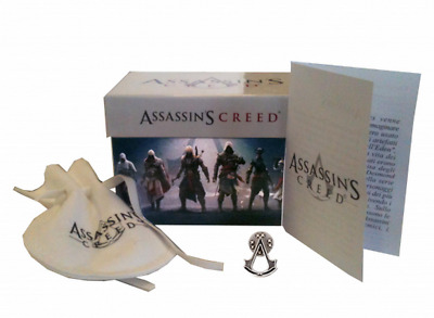 ASSASSIN'S CREED SPILLA PIN CREST AS74.76 in Metallo Ubisoft 2013