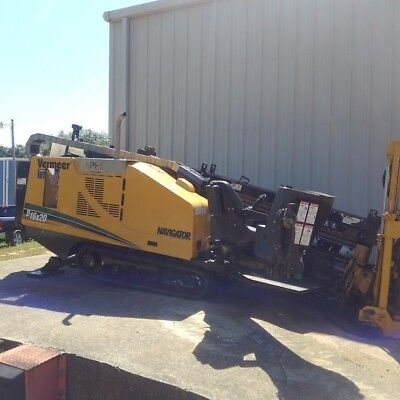 2012 Vermeer D16X20 Sii Directional Drill 1-Owner W/only 954 Hours