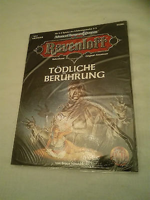 Tsr Ravenloft Ad&d Advanced Dungeons & Dragons Ra3 Tödliche Berührung Neu Ovp