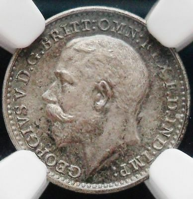 1911 Great Britain Silver Maundy 2 Pence NGC PF64