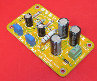 Tube Amp Negative Grid Bias Power Supply PCB Assembled 2 channel for PP orSE