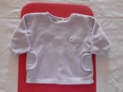 Pull Chaud Lila Clair Pour Fille Marque Premaman Taille 3 Mois