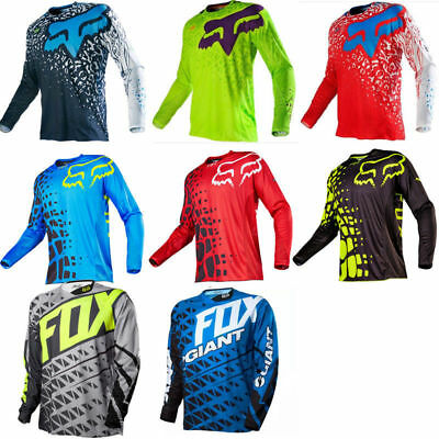 2018 Motocross Jersey FOX Extreme Sports Off Road Clothing Quick Dry A2