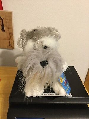 Schnauzer dog WEBKINZ PLUSH new with code ganz stuffed animal