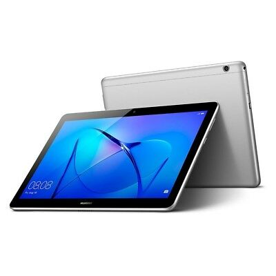 """Huawei MediaPad T3 10 Quad Core 9.6"""" IPS Android 7.0 Grey 16GB Tablet, Bluetooth"""