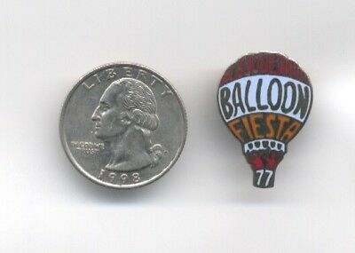 1977 Albuquerque Balloon Fiesta Pin