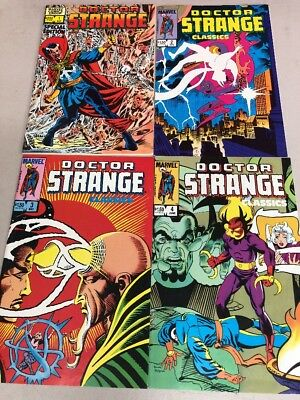 Doctor Strange Marvel Comic Lot of 4 Special Edition Classics #1-4 UNGRADED