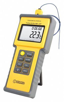 Traceable 1-Input Type K Mini-Type Thermocouple Thermometer  4015