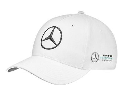 Genuine Mercedes-Benz White F1 AMG Petronas 2018 TEAM Cap B67996126 NEW
