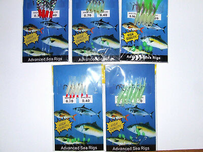 Mackerel Rig - 5 Styles Available - Mackerel Sea Fishing Rig Lure