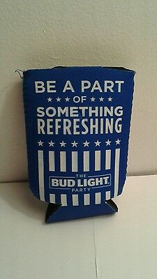 Bud Light Party Authentic Beer Koozie Brand New