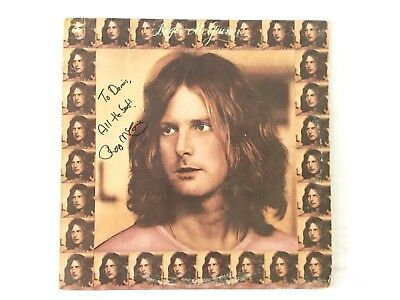 Roger McGuinn The Byrd's Signed First Solo Album LP