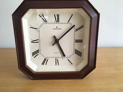 Vintage Junghans Quartz Wall Clock -W738 -Made in Germany.