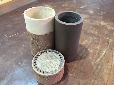 Cylindre Phonographe Cire Brune Record Phonograph Cylinder Gramophone