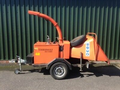 Wood Chipper Timber Wolf 30/150 H (1996) mechanically sound and ready to work!