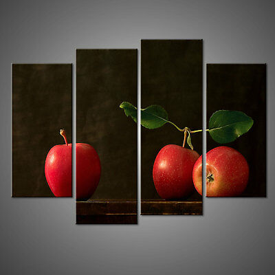 Red Apples Canvas Print Picture Wall Art Home Decor Free Delivery