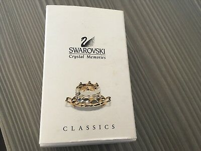 Swarovski Crystal Memories Cake on Tray - with box - Perfect Condition