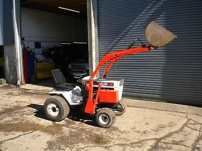BOLENS HT20 COMPACT / garden tractor with front loader              £2100  NO VAT