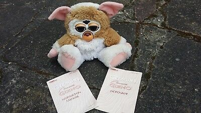 Gizmo Electronic Interactive Pet Toy Vintage 1999 Tiger  Gremlins Furby Manual