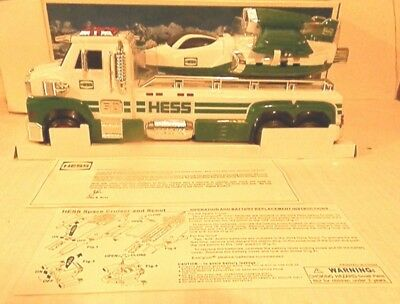 HESS 2014 50th Anniversary toy truck and space cruiser with scout HESS 50 2014