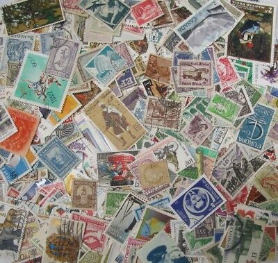 Large World Wide Stamp Lots! 100+ Stamps Per Lot! Free Ship! Buy 4 & Get 1 Free