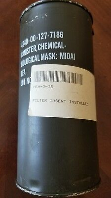4240-00-127-7186 Chemical Biological cannister m10a1 Military Issue for Gas Mask