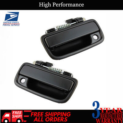 Front Outside Exterior Door Handle PAIR Left & Right For 1995-2004 Toyota Tacoma