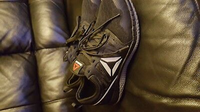 6b88526ec6ec Reebok Men s ZPrint RB4251 Black Gray Steel Toe SD SR Athletic Work Shoes