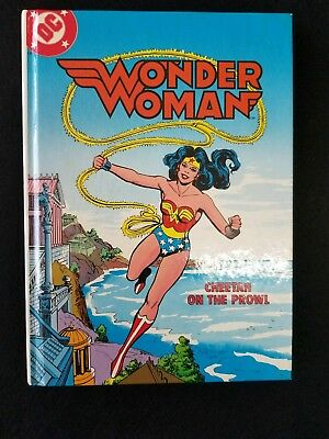 Wonder Woman Cheetah On The Prowl Book With Cassette
