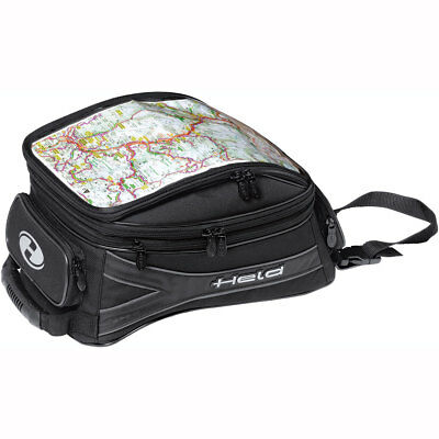 Motorcycle Held Expandable Tank Bag Tour 10-19L Magnet UK Seller