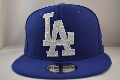Los Angeles Dodgers 9Fifty Snapback Authentic New Era Hat Cap MLB in Blue 4ac733731347