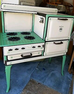 Well-liked BEAUTIFUL ANTIQUE 1936 Skelgas gas stove, original. A MUST see  NI82