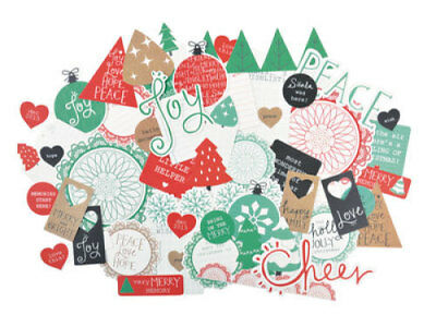 *A&B* KAISERCRAFT Scrapbooking Collectables - Holly Jolly - CT840 LIMITED STOCK