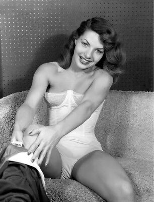 1960's Vintage Nude Pin up Taking Pants Off 8.5 x 11 Photograph