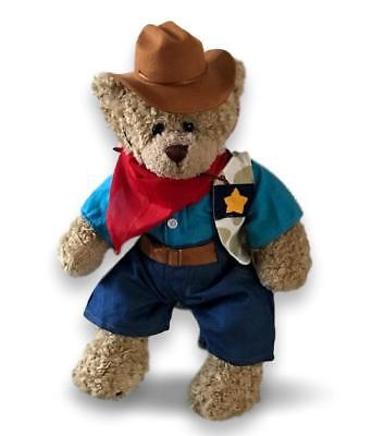 Teddy Bear Clothes fits Build a Bear Teddies Cowboy Rancher Outfit