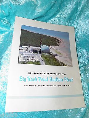 Big Rock Point Nuclear Plant, Charlevoix, Michigan From 1962