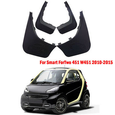 OEM Splash Guards Mud Guards Mud Flaps For Benz Smart ForTwo 451 W451 2010-2015