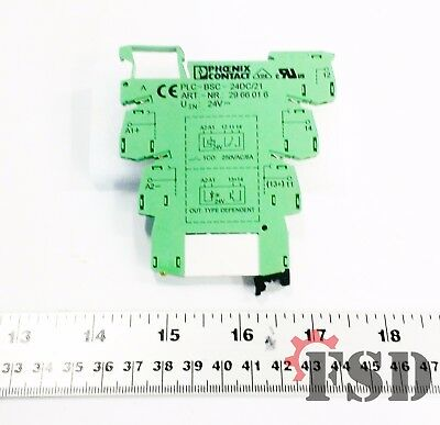 Phoenix Contact PLC-BSC-24DC/21 Terminal Block Relay Socket 24VDC 6.2MM