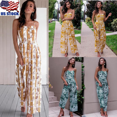Women Lady Clubwear Summer Playsuit Bodycon Party Jumpsuit Romper Trousers Dress