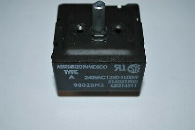 FRIGIDAIRE KENMORE TAPPAN Range Oven Small Surface Element Switch 316021500