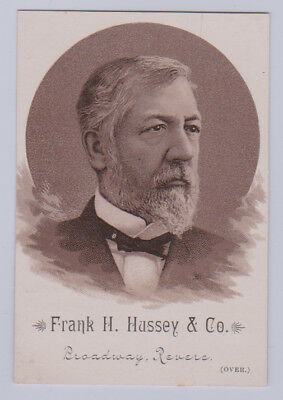 *RARE* 1884 Hd2a Hussey & Co. PRESIDENTIAL CANDIDATES - James G Blaine