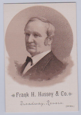 *RARE* 1884 Hd2a Hussey & Co. PRESIDENTIAL CANDIDATES - Thomas A Hendricks (VP)