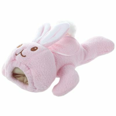 Baby Animal Holder Storage Bag Pouch Cover for Milk Bottle(Pink Rabbit) Y1B4